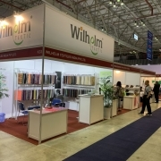 Our booth at 21. Shoes and Leather Vietnam