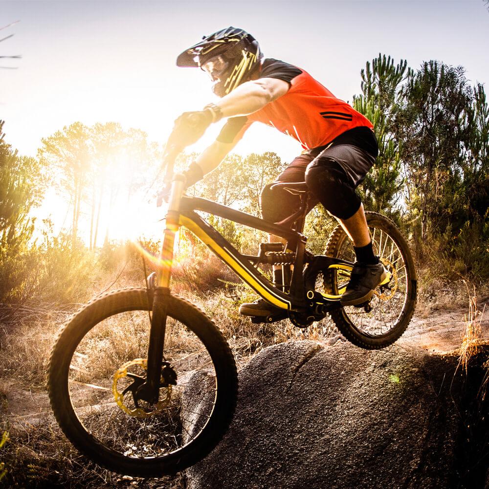 Image of a BMX rider