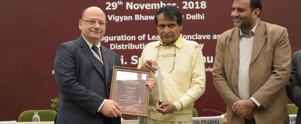 Wilhelm Textiles India again honored with the CLE Export Award